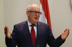 Bezoek minister Timmermans aan Albanië